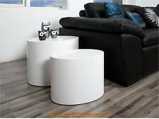 Coffee Table Side End Modern Look Nesting Living Room Home Furniture Rubber Feet
