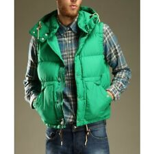 NWT $295 POLO RALPH LAUREN HOODED GREEN DOWN VEST SZ L