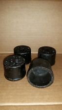 """*NEW LOT OF 4*  TYLER  2"""" Cast Iron NO HUB Pipe Fitting END Stop Cap Q153"""