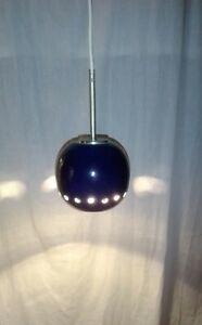 3x Pendelleuchte Kaskadenlampe Lampe Leuchte Deckenleuchte 70er Vintage
