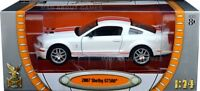 SHELBY GT 500 1:24 Scale Diecast Car Model Die Cast Cars Models GT500 red silver