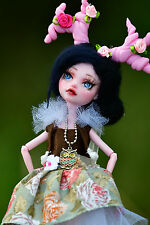 "OOAK Monster High/ Ever after high repaint Puppe- ""Waldelfe"" -Unikat"