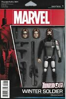 Thunderbolts Comic Issue 1 Limited Action Figure Variant Modern Age First Print