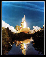 SPACE SHUTTLE LIFT OFF SIGNED BY RICHARD G. SMITH - DIRECTOR KSC(ESP#7784)