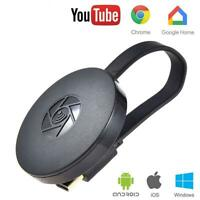Para Chromecast Google YouTube WiFi 1080P Dongle Airplay Pantalla HDMI Receptor