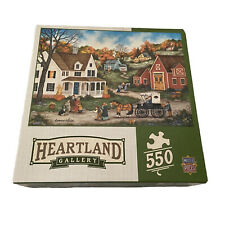 Heartland Gallery Dinner at Grandma's Jigsaw Puzzle 550 Piece Bonnie White