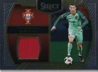 2016-2017 Panini Select Cristiano Ronaldo Patch Jersey Card #M-CR7 Portugal