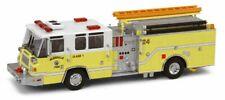 """Code 3 12756 """"Glendale Pierce Quantum Pumper LIME"""" 1:64 Diecast Fire Truck"""