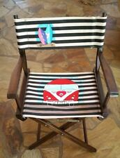 Vintage Wooden Canvas Director's Chair (Renovated)