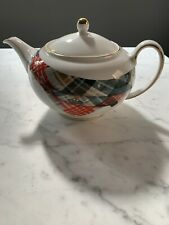 Coalport Vivienne Westwood Highland Fling Vintage Tea Pot Teapot  Used Rare