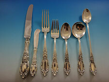 King Richard by Towle Sterling Silver Flatware Set 8 Service 62 Pcs Dinner Size