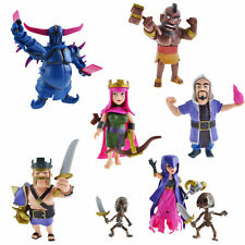 8PC Clash COC Action Figure Supercell Model Phone Game Character Dolls Toy