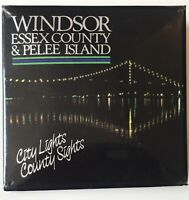 "Windsor Essex County & Pelee Island City Lights County Sights Canada 2"" Pinback"
