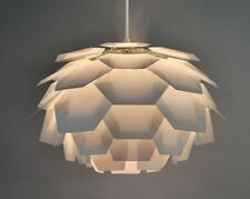 Modern White Funky Retro Style Artichoke Ceiling Pendant Light Lamp Shade Lights