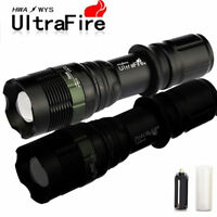 Ultrafire Police 10000LM Zoomable Focus XML T6 LED Flashlight Torch Super Bright