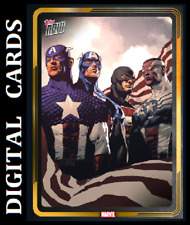 Topps MARVEL COLLECT TOPPS NOW OCTOBER 20 GOLD SUPER RARE [ CAPTAIN AMERICA ]