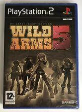 PS2 Wild Arms 5 (2008), UK Pal, Brand New & Sony Factory Sealed
