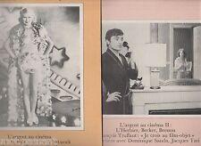 CINEMATOGRAPHE 1977- n°26 & 27- L'argent au cinéma - E.von Stroheim, L'Herbier..
