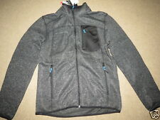 NEW NWT Free Country sweater knit fleece zip-up jacket - mens S - MSRP $80