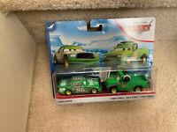 Disney Pixar Cars - Chick Hicks and Crew Chief Hicks NON-MINT