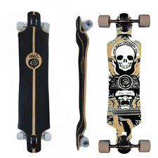 Easy People Longboards DTD-1 Drop Through Down Longboard Complete Lowrider Scull