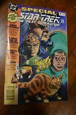 ~ DC SPECIAL STAR TREK THE NEXT GENERATION-COMIC BOOK 1 1993 COLLECTOR'S ISSUE ~