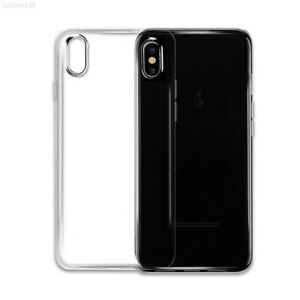 Transparent Silicone Phone Cover Cases Protector Soft Crystal Clear For iPhone X