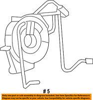 CHRYSLER OEM Airbag Air Bag-Clockspring Clock Spring 5156138AC