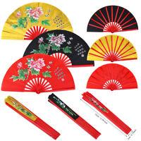 Tai Chi Martial Arts Kung Fu Bamboo Fan Wushu Dance Pratice Training Fan MF