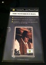 Spotlite Limited Edition Phone Card Notorious B.I.G.
