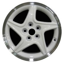 "17"" Dodge Avenger 1997 1998 1999 2000 Factory OEM Rim Wheel 2080 White Machined"