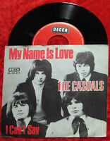 Single Casuals: My Name Is Love (Decca DL 25 417) D