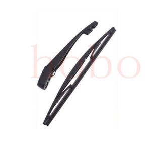 2pcs For Audi Q3 2013-2020 Car Rear Windshield Wiper Arm Blade Replace Frame
