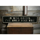 Beer Lover Humor Novelty Distressed Sign, Personalized Wood Sign