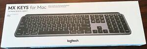 Logitech MX Keys Keyboard for Mac and IOS Device - Sealed