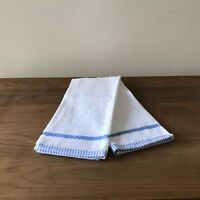 "NEW Kitchen Towel Set (2) -White -High-quality -100% Turkish Cotton  29"" x 20"""
