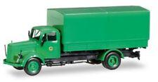 "MB L 311 camion bâché ""Polizei Hamburg Toilettenwagen"" - Herpa - scale 1/87 (Ho)"