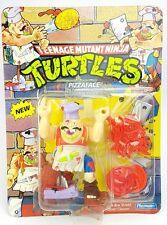 Vintage ☆ PIZZA FACE TEENAGE MUTANT NINJA TURTLES Action Figure ☆ Carded TMNT