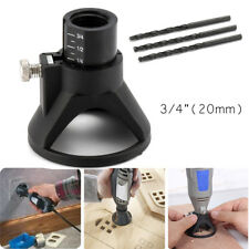 1pcs Dremel Rotary Multi Tool Cutting Guide Attachment Kit +3 Multipurpose Bit