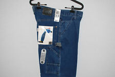 Vintage Levis Silvertab Mens Blue Denim Carpenter Jeans measures 30 x 31 NWT