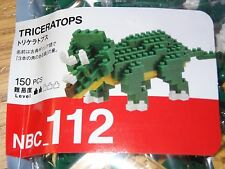 Triceratops Nanoblock Micro Sized Building Block Construction Toys Kawada NBC112