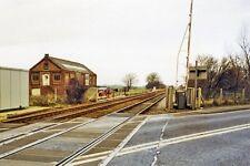 PHOTO  LINCOLNSHIRE  LITTLEWORTH RAILWAY STATION REMAINS POTATO WAREHOUSE 2000
