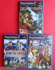 videogiochi playstation 2 legacy of kain ultimate ninja pes video games ps2 ps 2