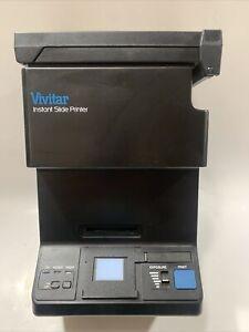 Vivitar Instant Slide Converter Printer - Convert 35mm Slides To Polaroid Prints