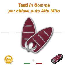 TASTIERA PULSANTI GOMMA CHIAVE TELECOMANDO 3 TASTI AUTO ALFA ROMEO MITO GTO 159