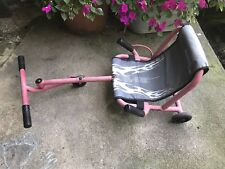 EZY Roller Kinder 3 Rad fahren auf ultimative Reiten Maschine EzyRoller rot mit Extender