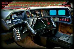 Dash 2tv 1st season pilot knight Rider Kitt & Karr Pontiac firebird 82 - 92 ..
