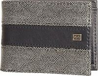 BILLABONG MENS WALLET.TRIBONG FAUX LEATHER NAVY NOTE/COIN/CARD PURSE 7W M05 21