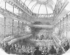 LONDON. Royal Surrey Gardens. The new Music Hall at the Surrey Gardens, 1856