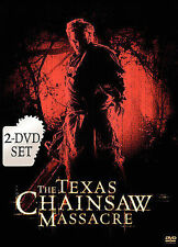 The Texas Chainsaw Massacre (DVD-2-Disc Set-horror-BRAND NEW STILL SEALED